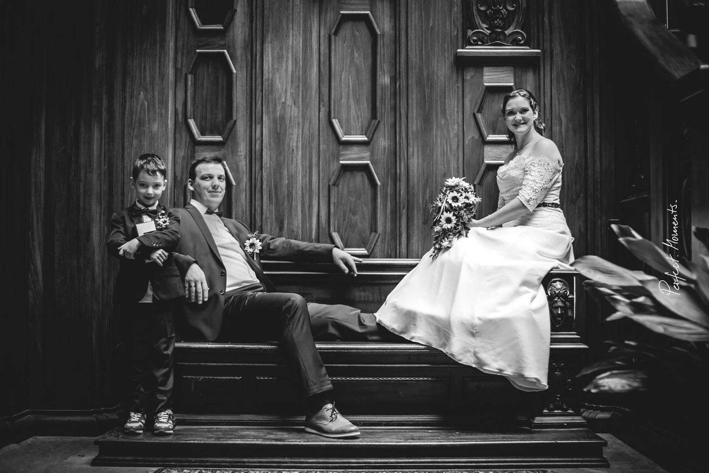 HochzeitsPaar Anne & Christian im Schloß Waldenburg
